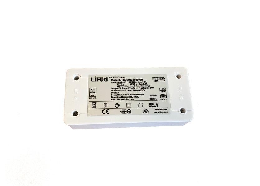 Sixpack: Dimbare LED panelen 60 x 60 cm, 38 Watt, 4000 Kelvin – inclusief driver Valott Purjo
