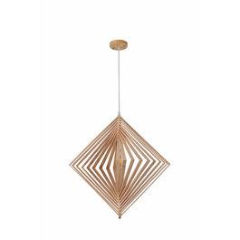 Madera Hanglamp Hout Houtkleur 62 cm - Madera Palmera