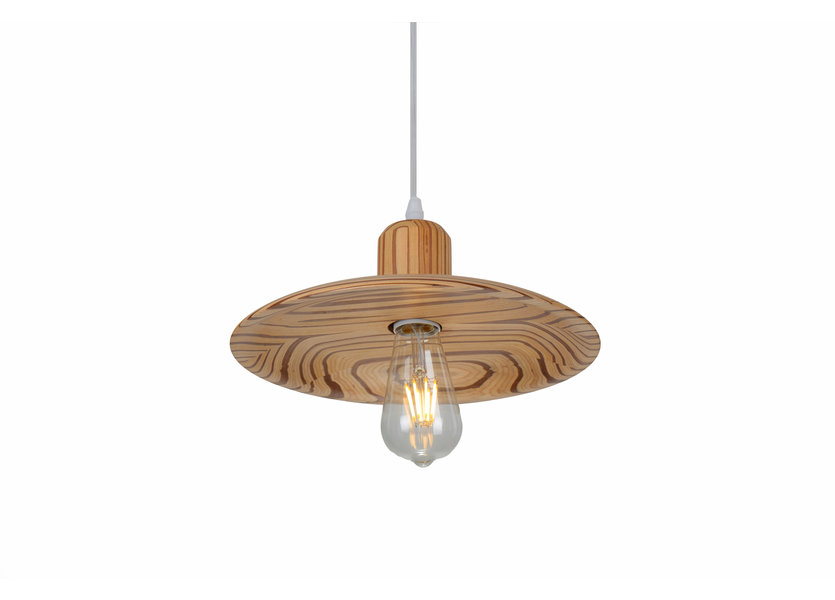 Hanglamp Hout Houtkleur 29 cm - Madera Carrasco