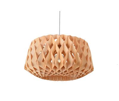 Madera Hanglamp Hout Houtkleur 57 cm - Madera Ceratonia