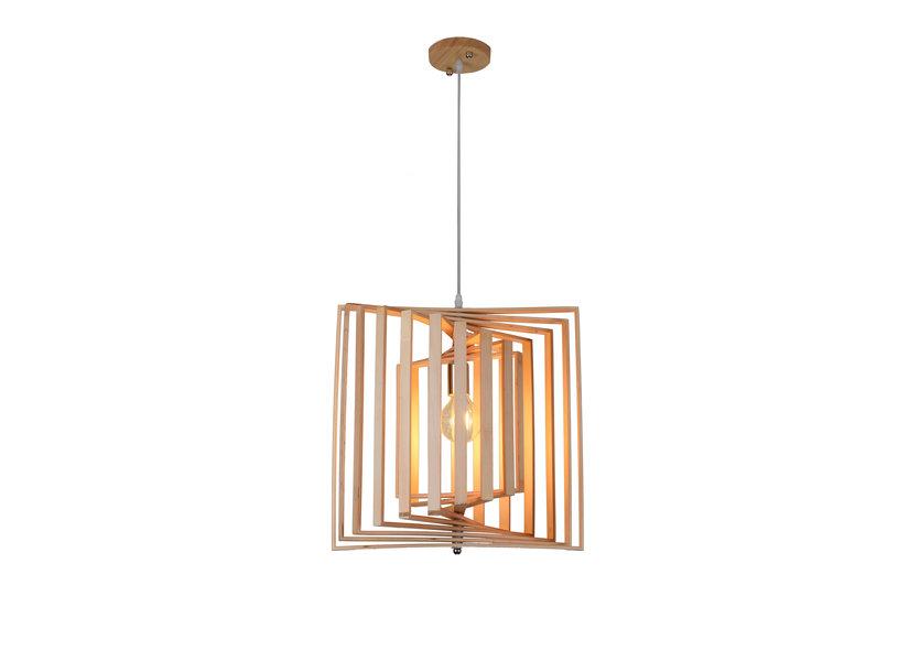 Hanglamp Hout Houtkleur 45 cm - Madera Colutea