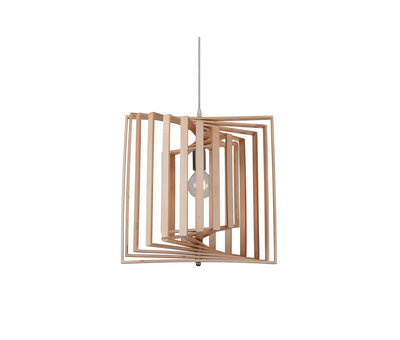 Madera Hanglamp Hout Houtkleur 45 cm - Madera Colutea