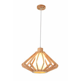 Madera Hanglamp Hout Houtkleur 45 cm - Madera Unedo