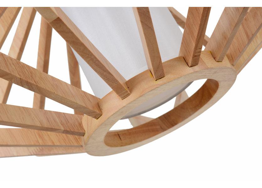 Hanglamp Hout Houtkleur 45 cm - Madera Unedo