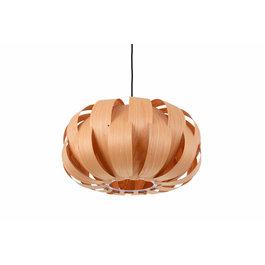 Madera Hanglamp Hout Rond Houtkleur 45 cm - Madera Almez
