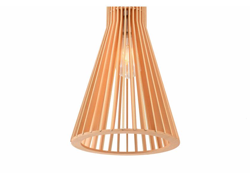 Hanglamp Hout Houtkleur 30 cm - Madera Acirón