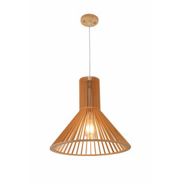 Madera Hanglamp Hout Houtkleur 42,5 cm - Madera Eucalipto