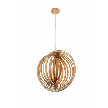 Madera Hanglamp Hout Houtkleur 45 cm - Madera Mediterráneo