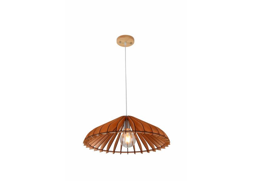 Hanglamp Hout Houtkleur 30 cm - Madera Olmo