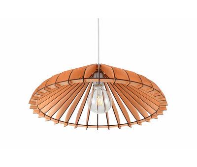 Madera Hanglamp Hout Houtkleur 50 cm - Madera Olmo
