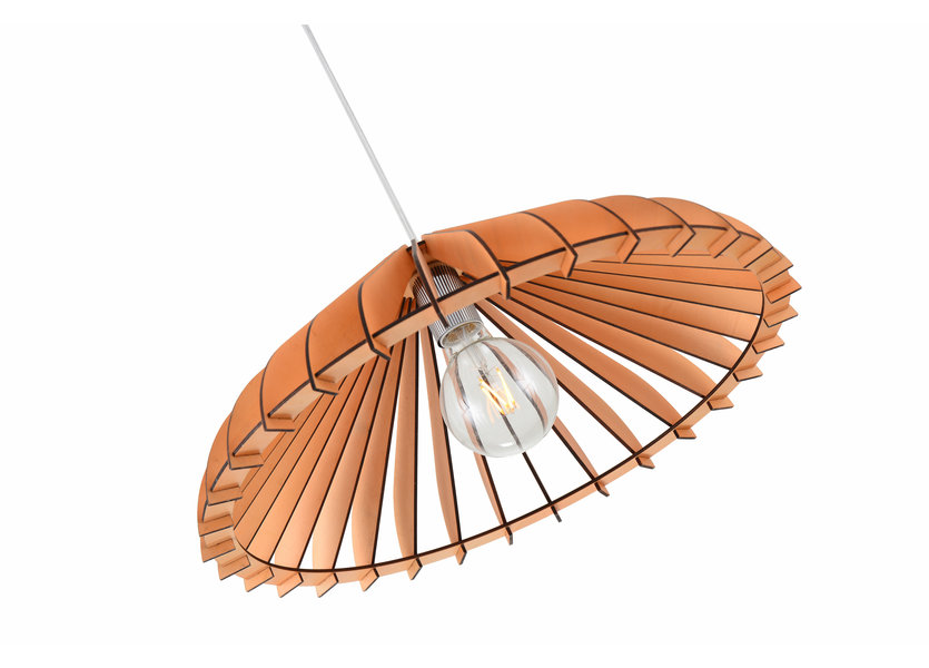 Hanglamp Hout Houtkleur 50 cm - Madera Olmo