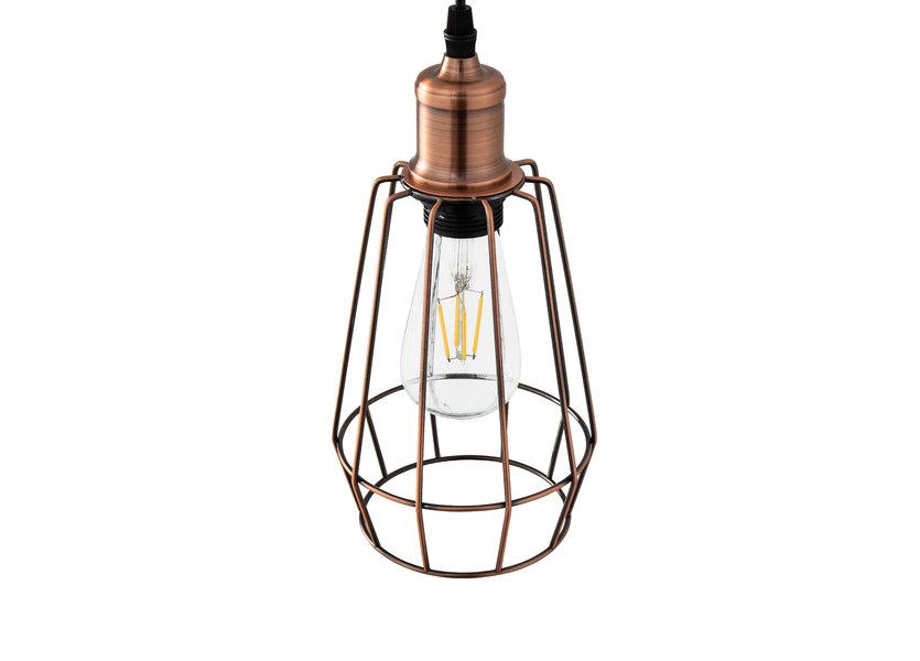 Moderne Drielichts Hanglamp 14 cm - Scaldare Avella