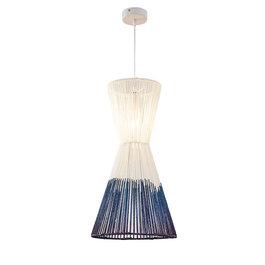Scaldare Hanglamp Modern Wit met Blauw 30 cm - Scaldare Aprilia