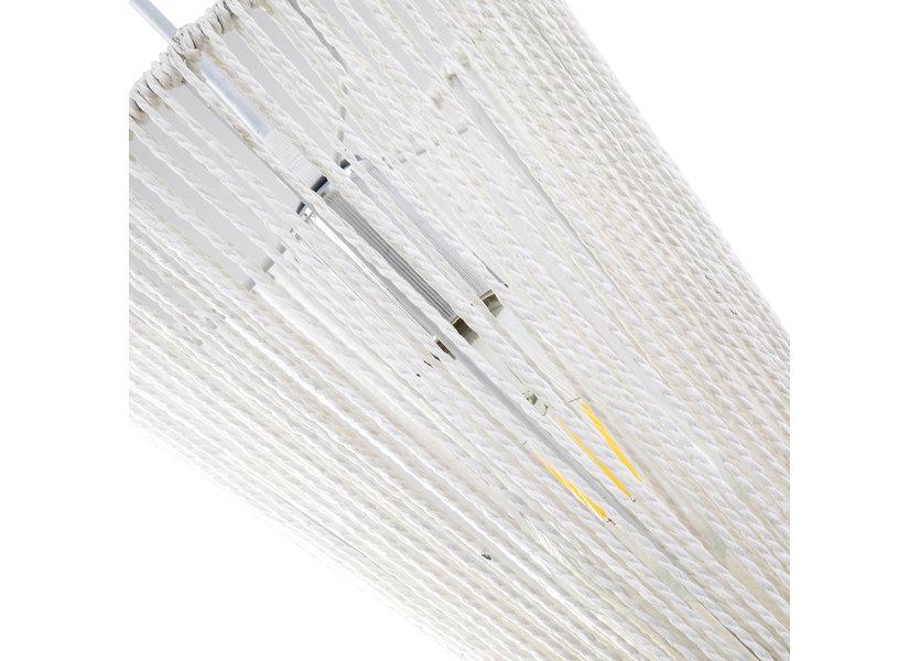 Hanglamp Modern Wit met Blauw 30 cm - Scaldare Aprilia