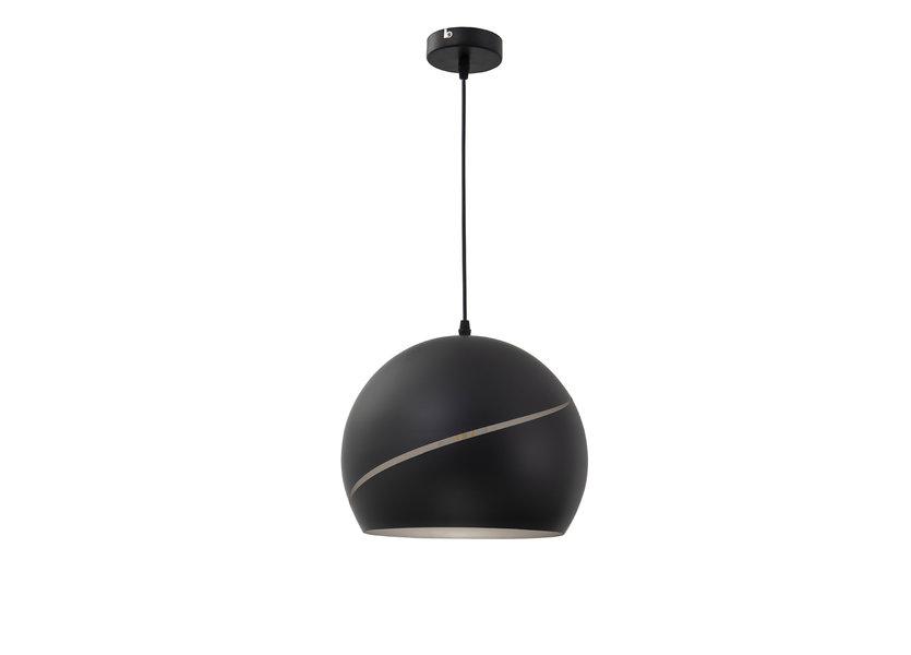 Hanglamp Modern Zwart Rond 30 cm - Scaldare Ariano