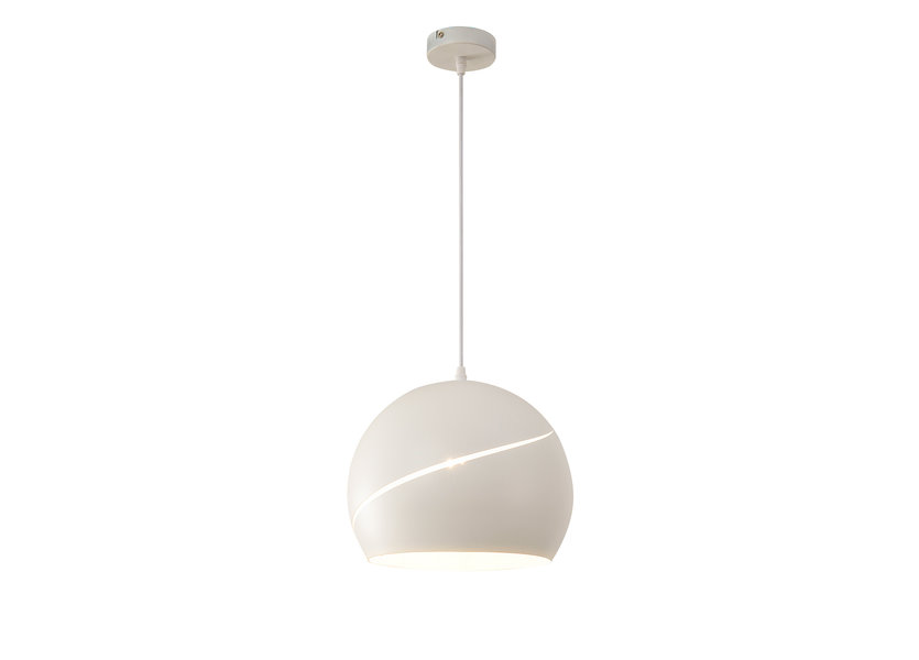 Hanglamp Modern Wit Rond 30 cm - Scaldare Ariano