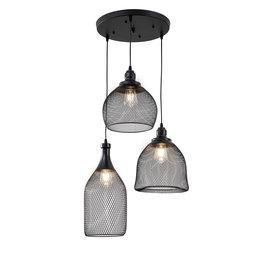 Scaldare Moderne Drielichts Hanglamp Zwart - Scaldare Ardore