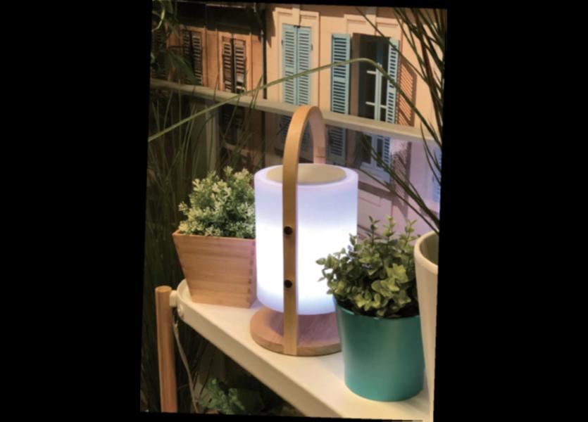 Tafellamp LED met Speaker + Bluetooth Oplaadbaar + Afstandsbediening  - Funnylights Weedle