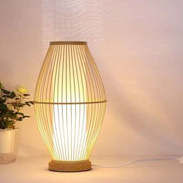 Madera Tafellamp Modern Hout 26 cm - Madera Laurel