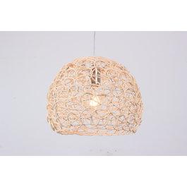 Madera Hanglamp Hout Rond Houtkleur 35 cm - Madera Carpe
