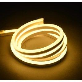 Funnylights Mini LED Neon Flex Warm Wit 1 meter 6mm x 12mm inclusief 12V lichtnetadapter - Funnylights