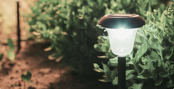 Ontdek onze prachtige lampen voor buiten.