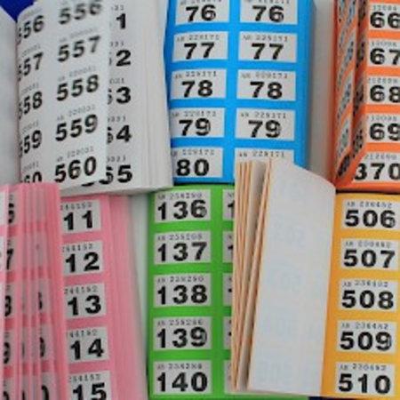 CombiCraft Dubbelnummers of Lootjes Budget in boekjes 6000 Dubbelnummers