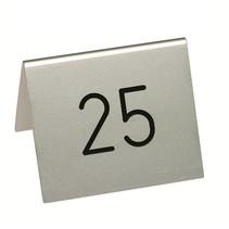 Aluminium tafelnummers dun