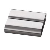 Zilverkleurige RVS Kaartklem blanco