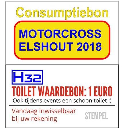 CombiCraft Consumptiebonnen 50 x 28 mm op strips met Full Colour bedrukking 1000 stuks