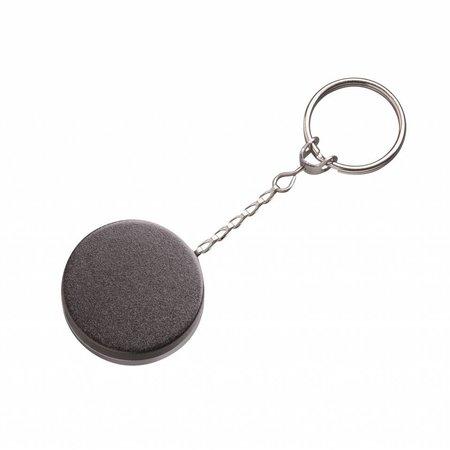 Rollmatic met chroom achterzijde Ø 50mm  met 60 cm ketting, prijs per stuk vanaf: