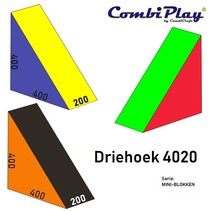 DRIEHOEK 4020 (Serie: mini blokken)