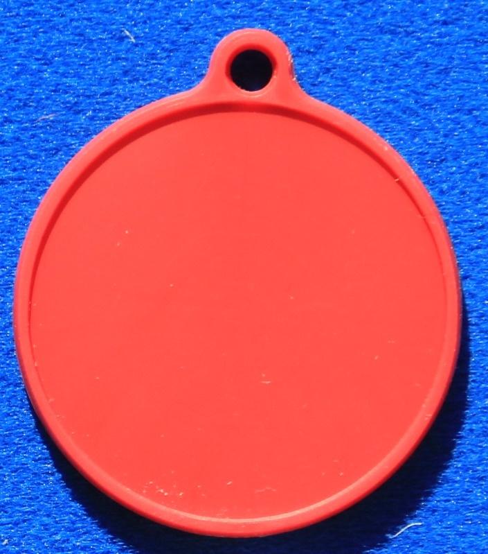 CombiCraft Neutrale onbedrukte Labels voor keuringsstickers of logo's, prijs per stuk vanaf: