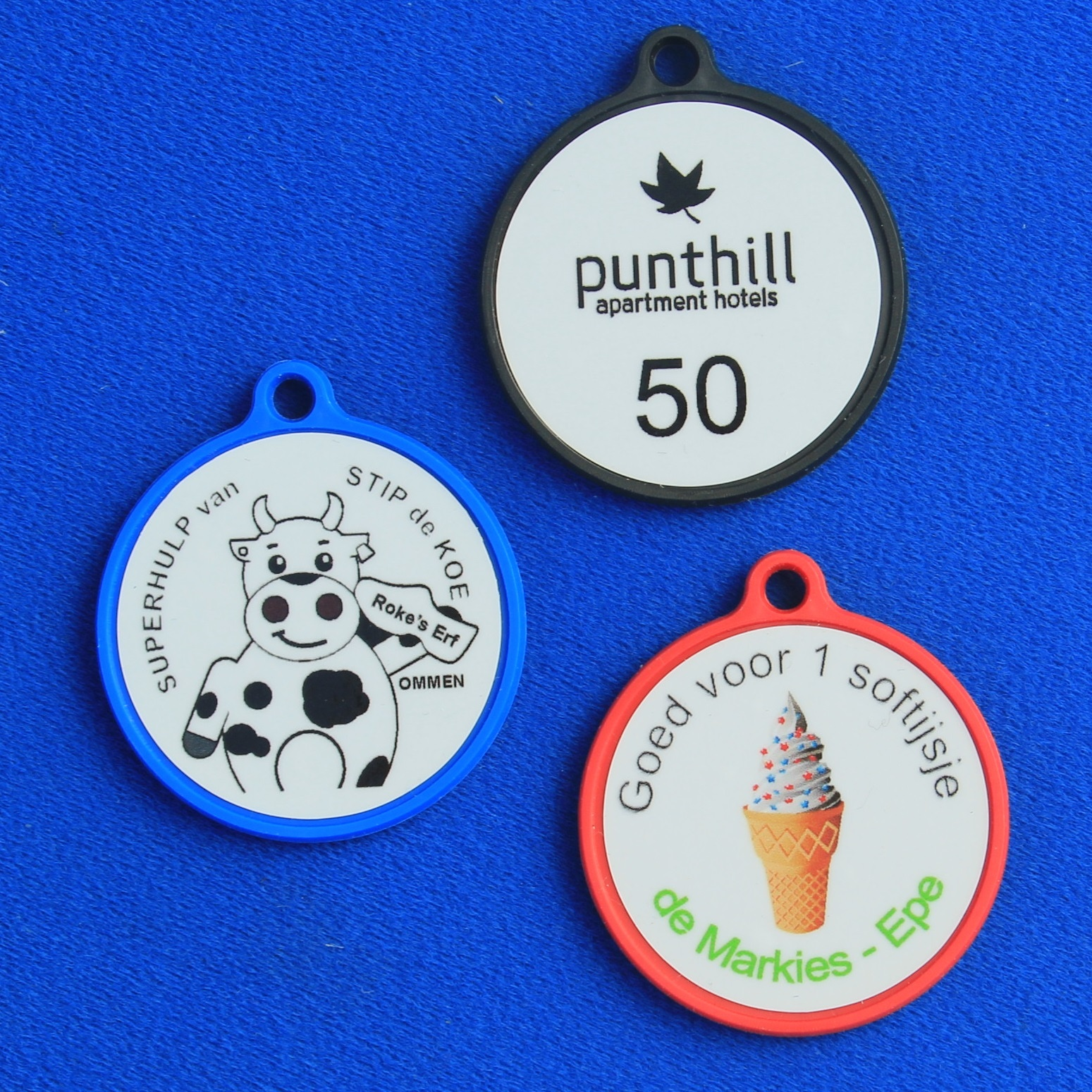 CombiCraft Kunststof Medailles voorzien van kleurige afbeeldingen, prijs per stuk vanaf: