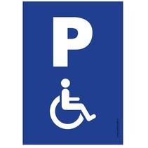 Parkeerplaats Invalide bord