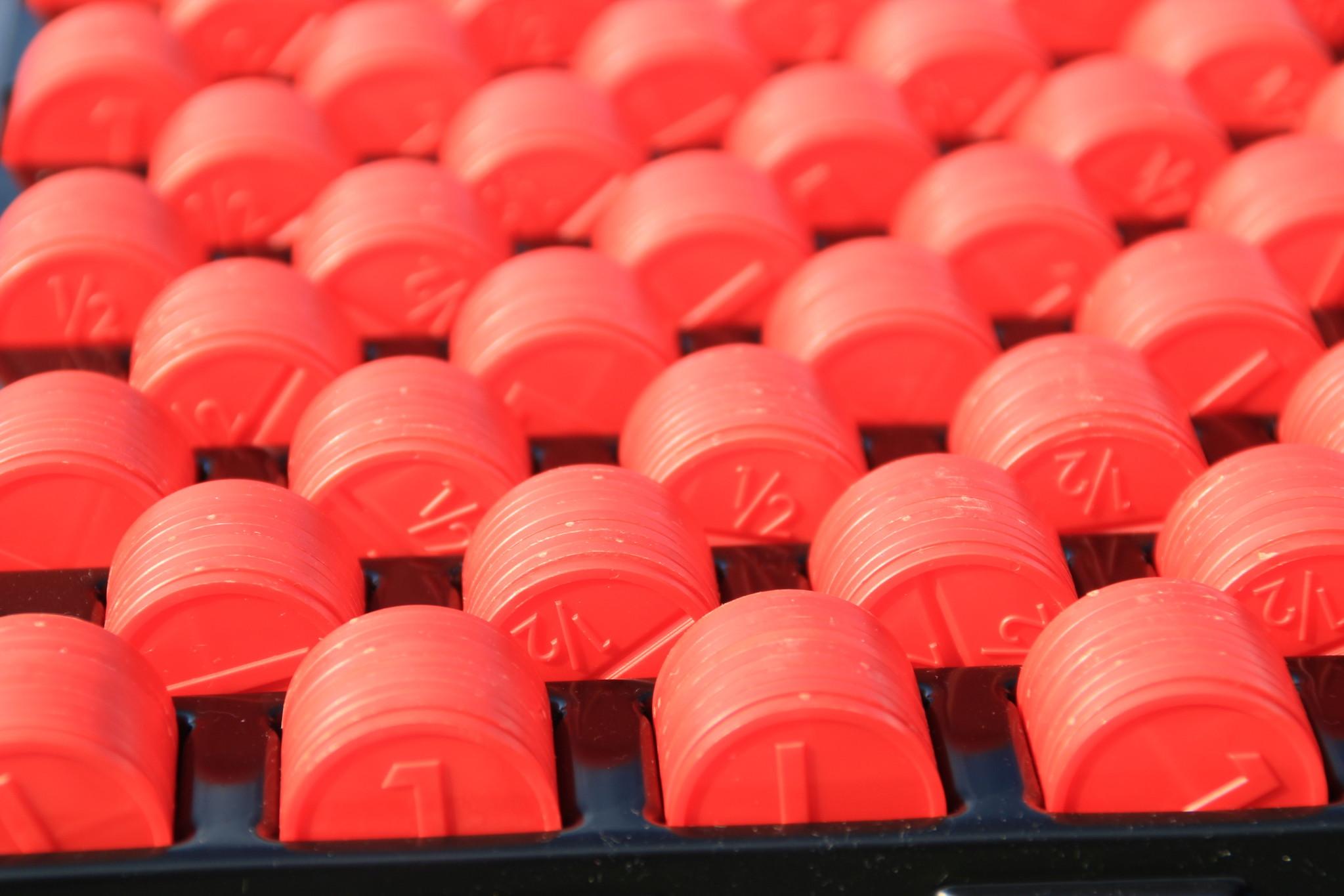 CombiCraft Kunststof Telbakken voor onze  Ø29 munten (2,3mm dik) - 1000 Munten Telbak, v.a.