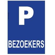 Parkeerplaats bezoekers bord