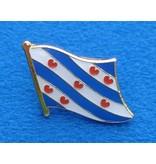 Friese Vlag Pin - Pin van de vlag van Friesland met vlindersluiting