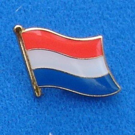 Nederlandse Vlag Pin - Pin van de Nederlandse vlag met vlindersluiting