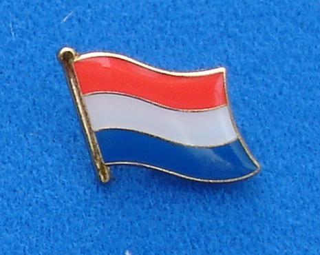 CombiCraft Nederlandse Vlag Pin - Pin van de Nederlandse vlag met vlindersluiting