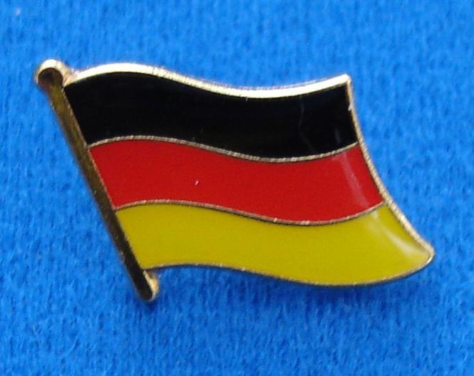 CombiCraft Duitse Vlag Pin - Pin van de Duitse vlag met vlindersluiting