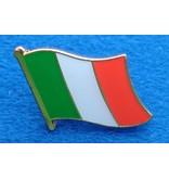 CombiCraft Italiaanse Vlag Pin - Pin van de Italiaanse vlag met vlindersluiting