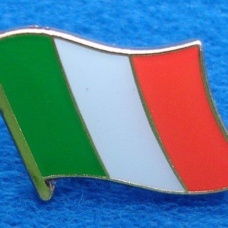 Italiaanse Vlag Pin - Pin van de Italiaanse vlag met vlindersluiting