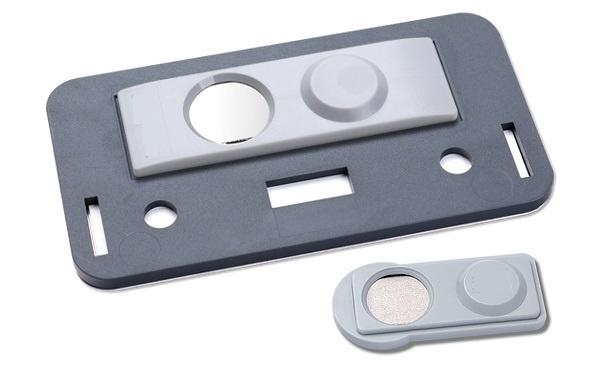 CombiCraft Badgemaster 35 - Naambadge met uw logo en magneetsluiting, prijs per stuk v.a.