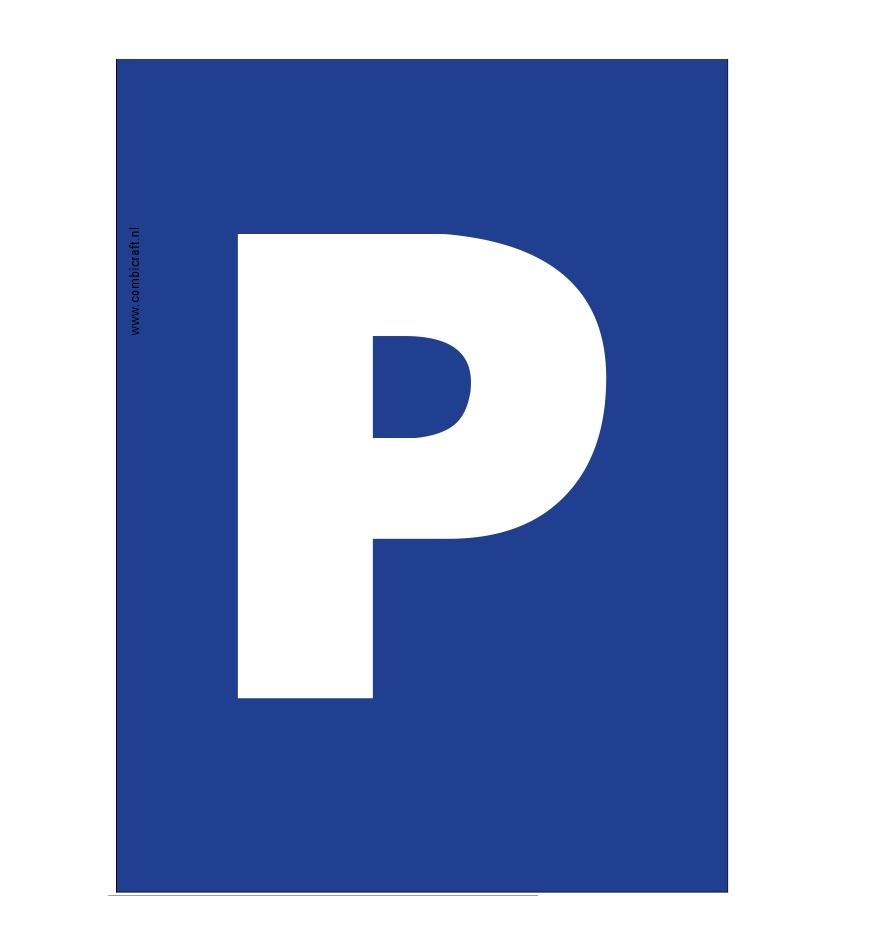 CombiCraft Bordje - parkeerplaats