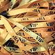 CombiCraft 100 Textiele VIP Polsbandjes - Goudkleurige Textiel Polsbandjes met VIP,  prijs per 100 stuks  vanaf
