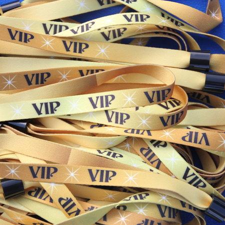 CombiCraft VIP Polsbandjes Textiel per 100 stuks