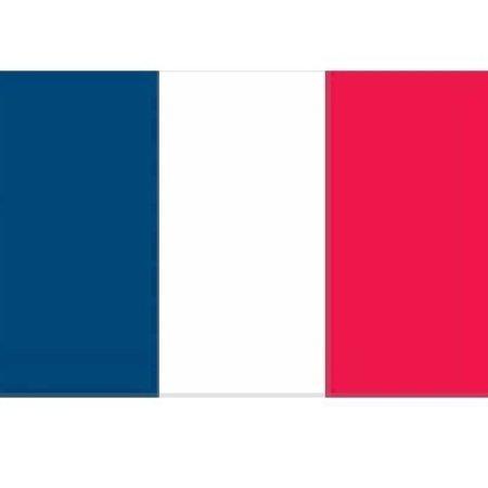 CombiCraft Franse polyester vlaggen 150x90 cm in buitenkwaliteit, Prijs per stuk: