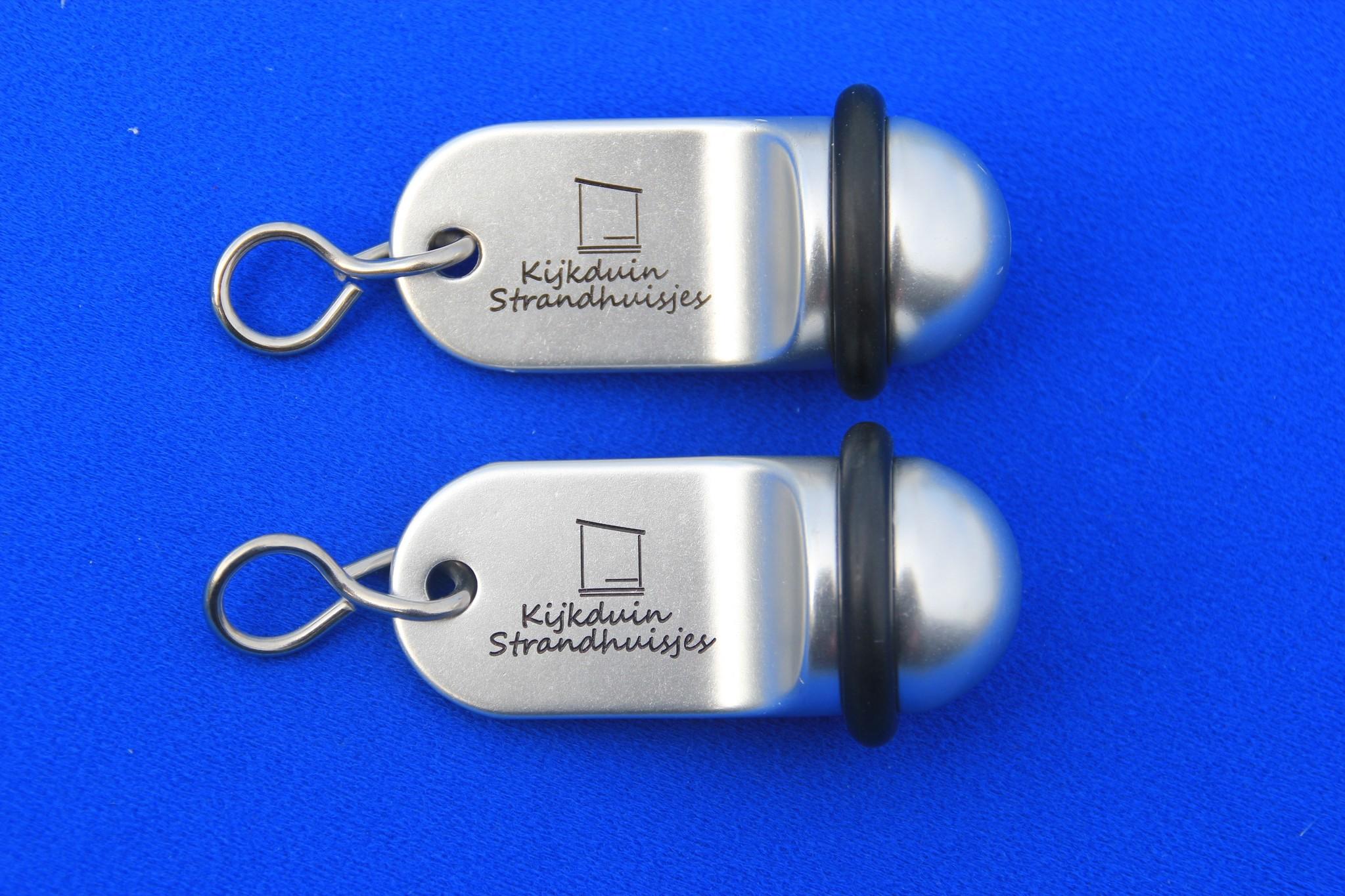 CombiCraft Hotelsleutelhanger MIDI Classic in Zilver-, Goud- of Bronskleurige Afwerking, prijs per stuk