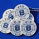 CombiCraft Polystyreen Medaille ronde of in eigen vorm gemaakte Medaille in verschillende formaten, vanaf: